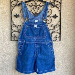 Vintage Calvin Klein short overalls